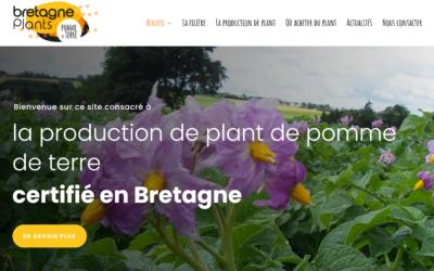 Un nouveau site web pour Bretagne-Plants !
