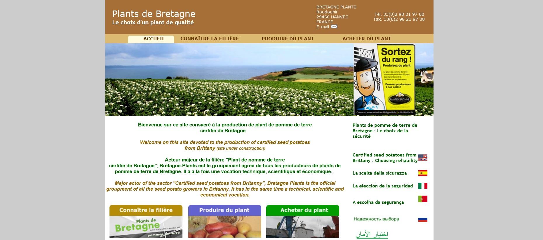 Un nouveau site pour Bretagne Pkants5 Plant de Bretagne